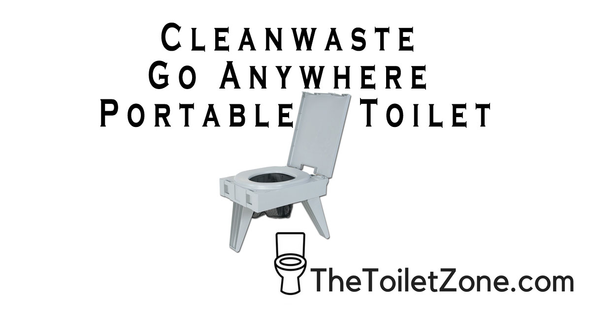 Cleanwaste go anywhere portable