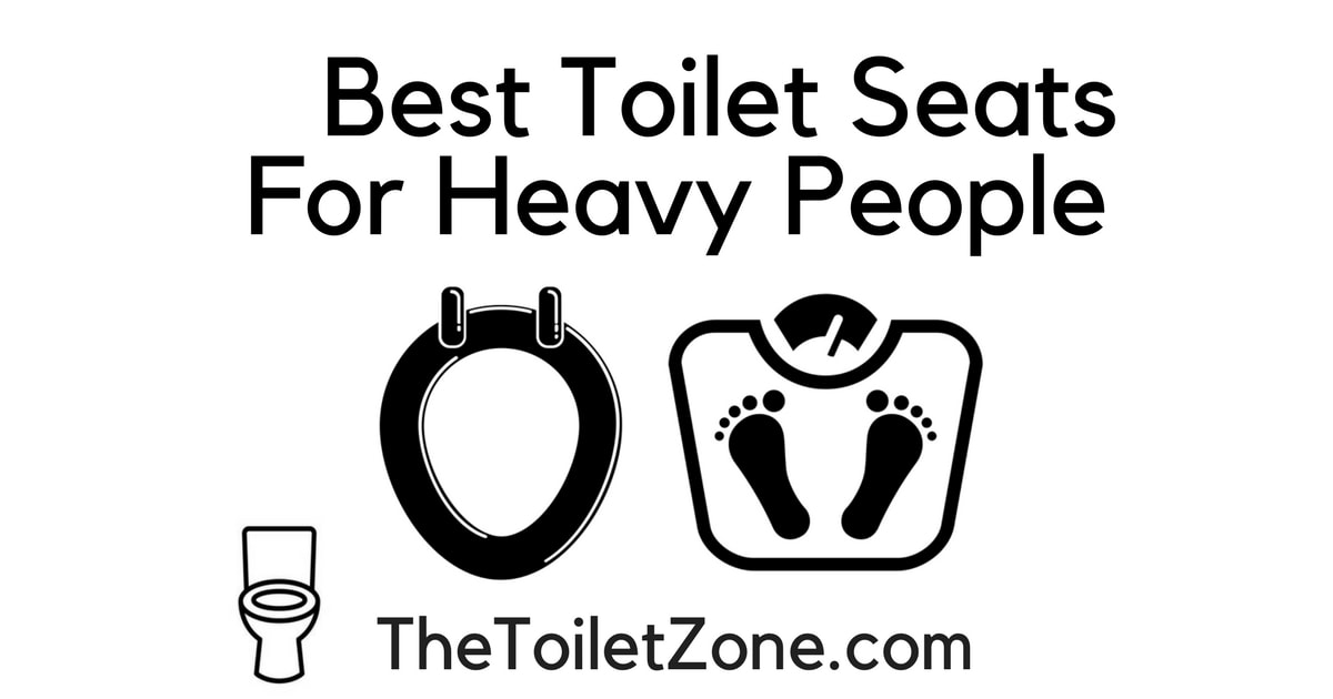 best oversized toilet seat for heavy people