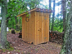 Outhouse / composting toilet