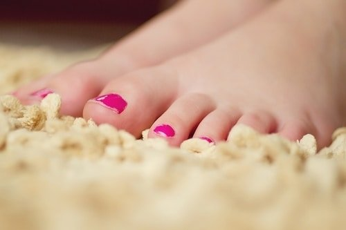 Have a foot spa at home