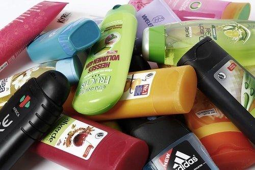 Organize your shampoo bottles