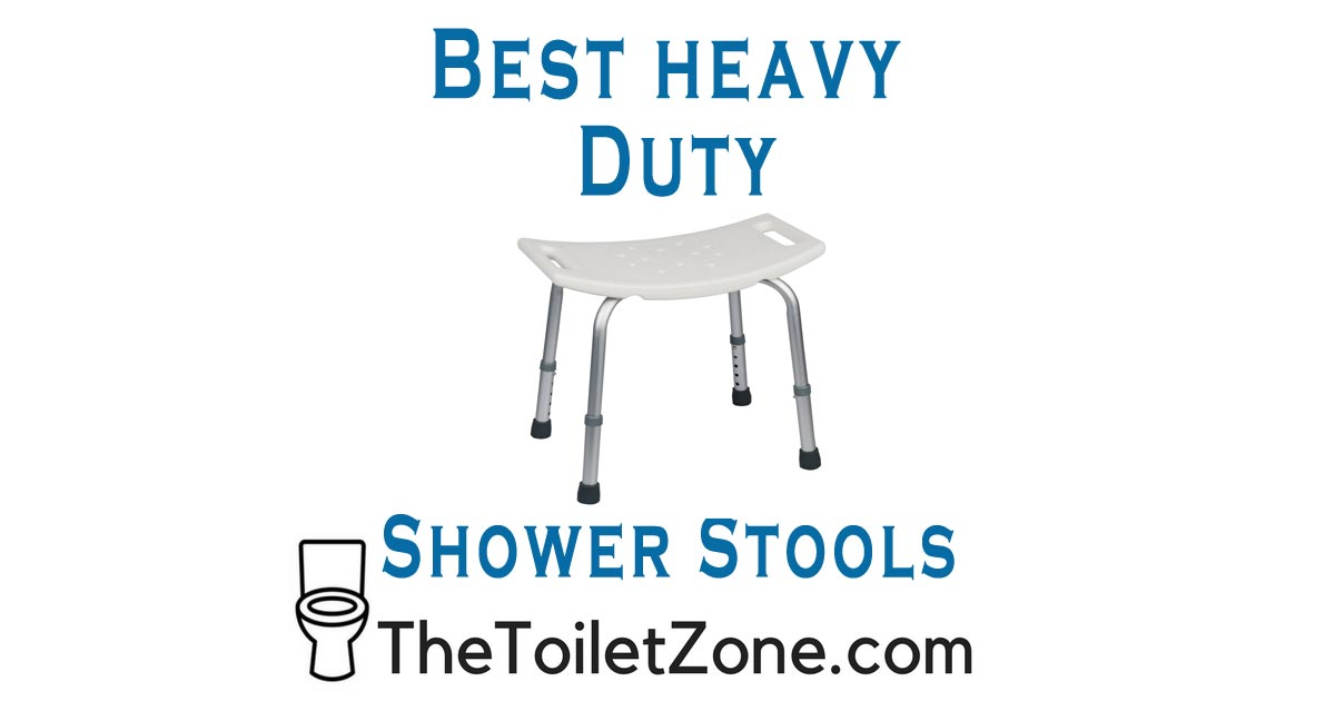 best shower stools for heavy people