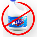 Bleach bottle bleach-free cleaning