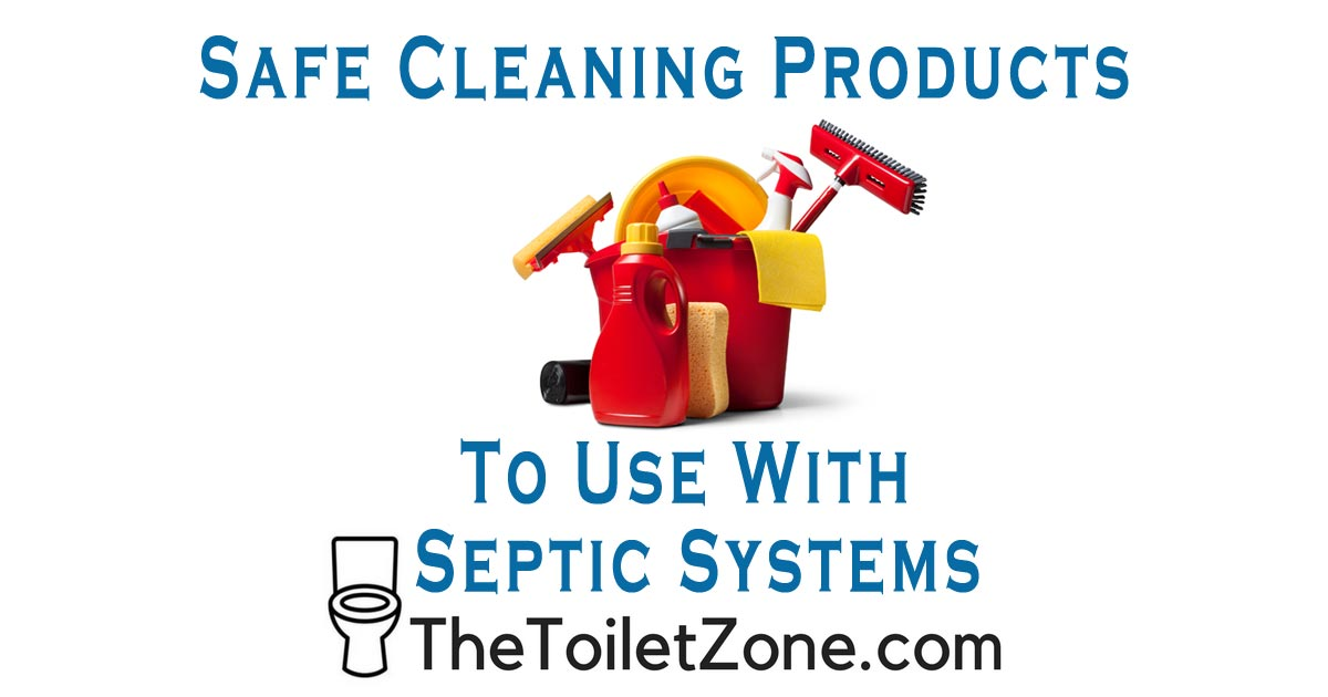 safe cleaning supplies for use with septic systems