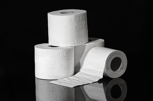 Save on toilet paper