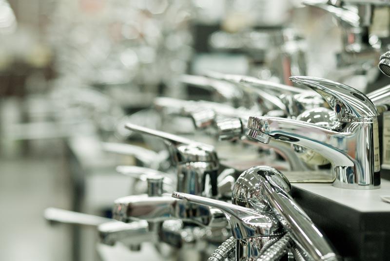 bathroom faucets in shop