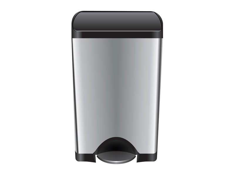 best bathroom trash can itouchless vs simplehuman reviews 2018. Black Bedroom Furniture Sets. Home Design Ideas