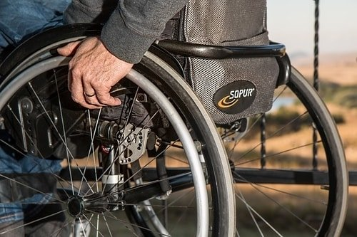 Bending down is hard for people with injury or disability
