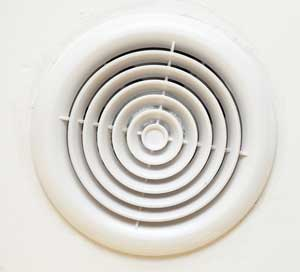 bathroom fan for proper ventilation