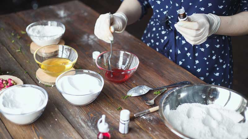 Best Way to Color Bath Bombs Naturally   Non-Toxic Colorants