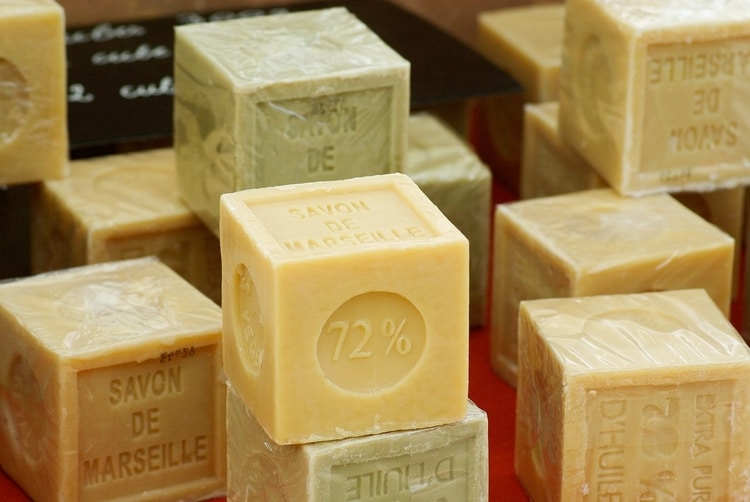bars of french soap