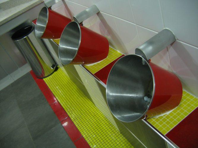 Bucket urinals