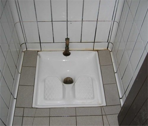 French Squatter Toilet