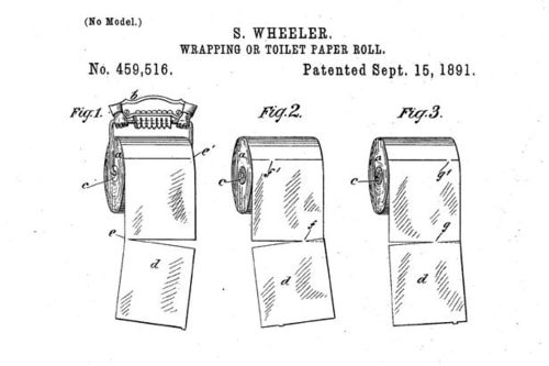 Toilet paper design schematics