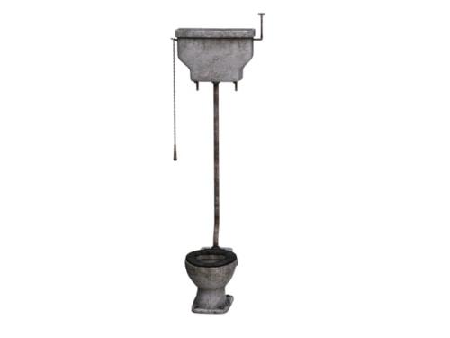 Vintage flush system