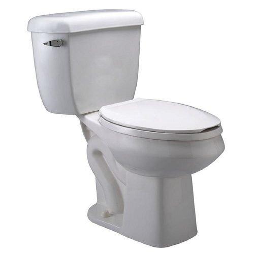 closeup of Zurn toilet