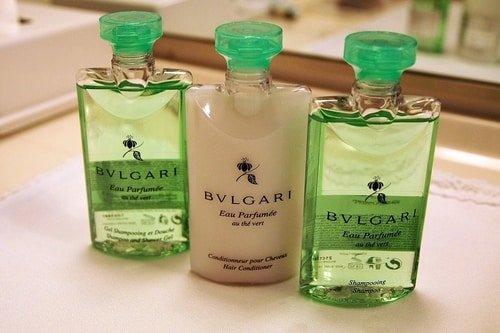 Bvlgari high end shampoo