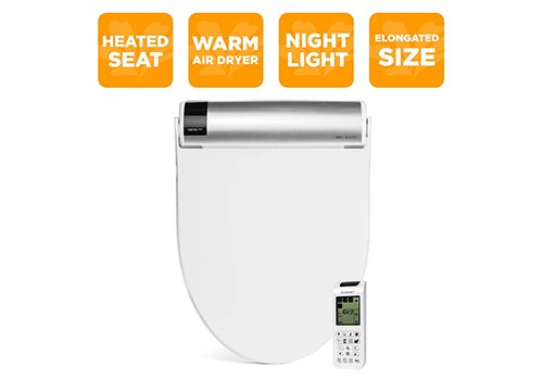 BioBidet Bliss BB2000 White Bidet Smart Toilet Seat