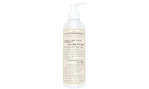 VMV Hypoallergenics Essence Skin-Saving Superwash Hair and Body Milk Shampoo